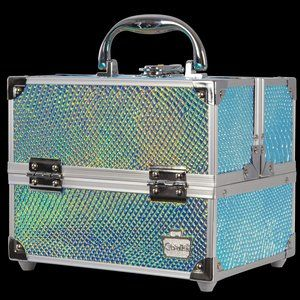 Caboodles Adored Cosmetic Train Case, Snakeskin